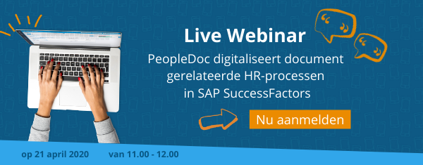 Webinar PeopleDoc voor SAP SuccessFactors